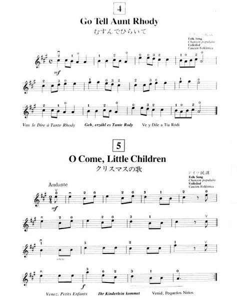 Suzuki Metodo De Violino Vol 1 2 3 4 5 Metodo Suzuki De