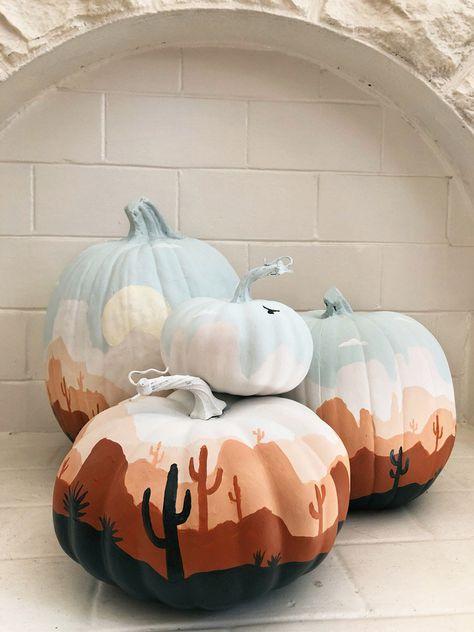 Easy Halloween, Halloween Crafts, Halloween Decorations, Halloween Painting, Easy Pumpkin Carving, Cute Pumpkin, Pumpkin Ideas, Pumpkin Contest, Fall Pumpkins