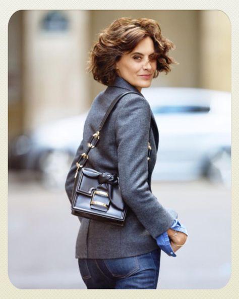 List Of Pinterest Ines De La Fressange Haircut Casual Ideas Ines