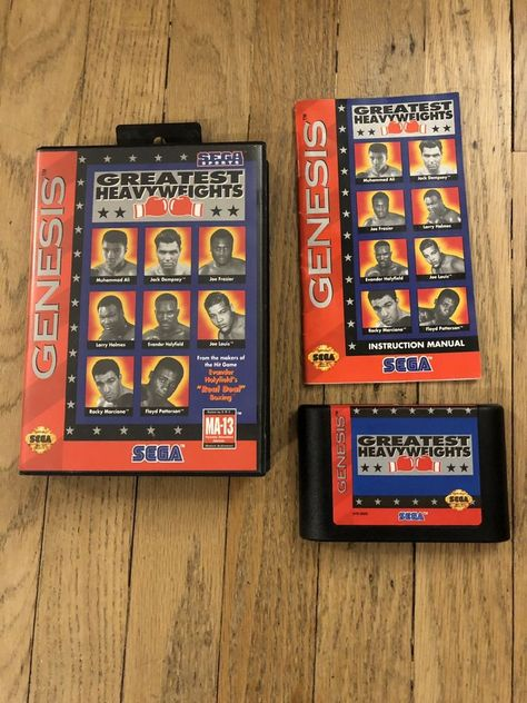 greatest heavyweights sega