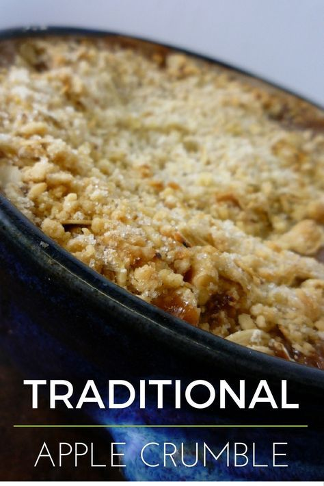Pin by Susan May on desserts   Crumble recipe. Apple crumble recipe. Thermomix