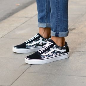 baskets vans old skool