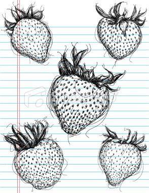Strawberry Illustration Strawberry Drawing Fruits Drawing Strawberry Tattoo