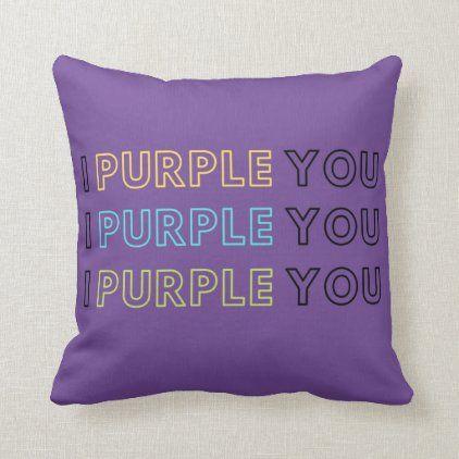 I Purple You Bts Army Throw Pillow Army Throw Pillows Army Room Decor Throw Pillows