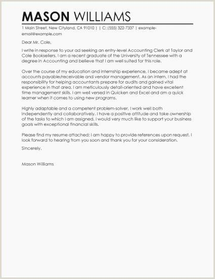 Accountant Cover Letter Examples Accountant Cover Letter Examples