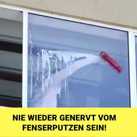 Du willst auch deinen Fensterputz einfacher und schneller erledigen? Dazu auch noch ohne Schlieren mit perfektem Ergebnis? 💁♀️ 👍  Dann bist du mit