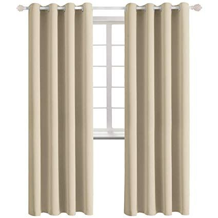 Amazon Com Bgment Blackout Curtains For Bedroom Grommet Thermal