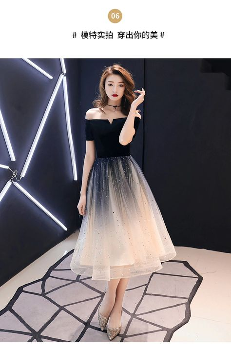 38.84US $ 27% OFF משתה שמלת ערב 2020 אופנה חדשה כבוי כתף קצר שרוול שיפוע נשף מסיבת שמלת פאייטים תה אורך Evening Dresses    - AliExpress