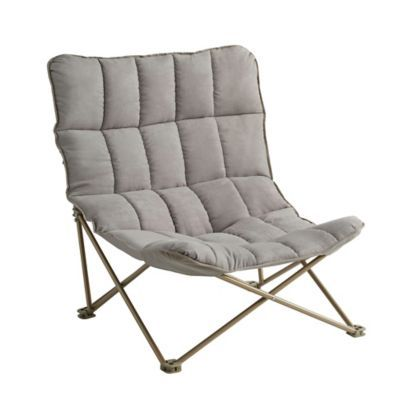 Fantastic Quilted Oversized Folding Lounger In Taupe In 2019 Lounge Andrewgaddart Wooden Chair Designs For Living Room Andrewgaddartcom