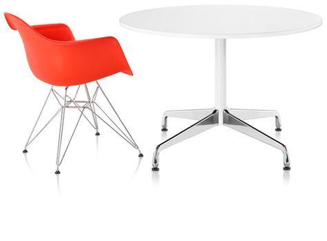 Eames Table Segmented Base Round 937 Office Pinterest Eames