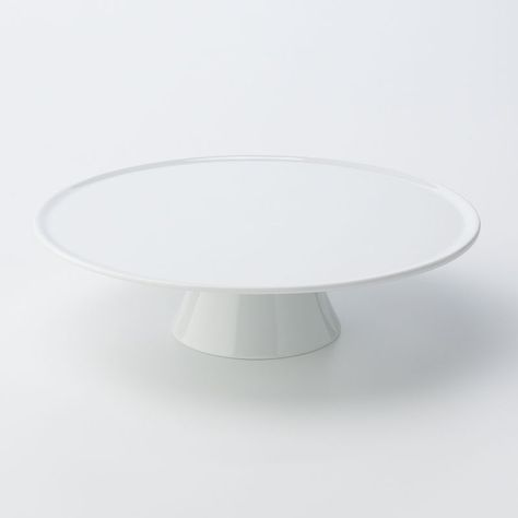 food networka cake plate white