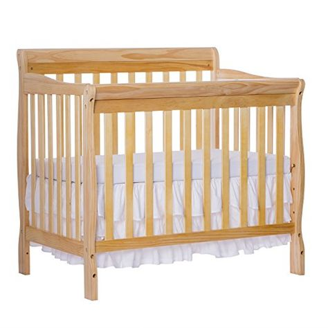 Amazon Com Dream On Me 4 In 1 Aden Convertible Mini Crib Baby Con Imagenes