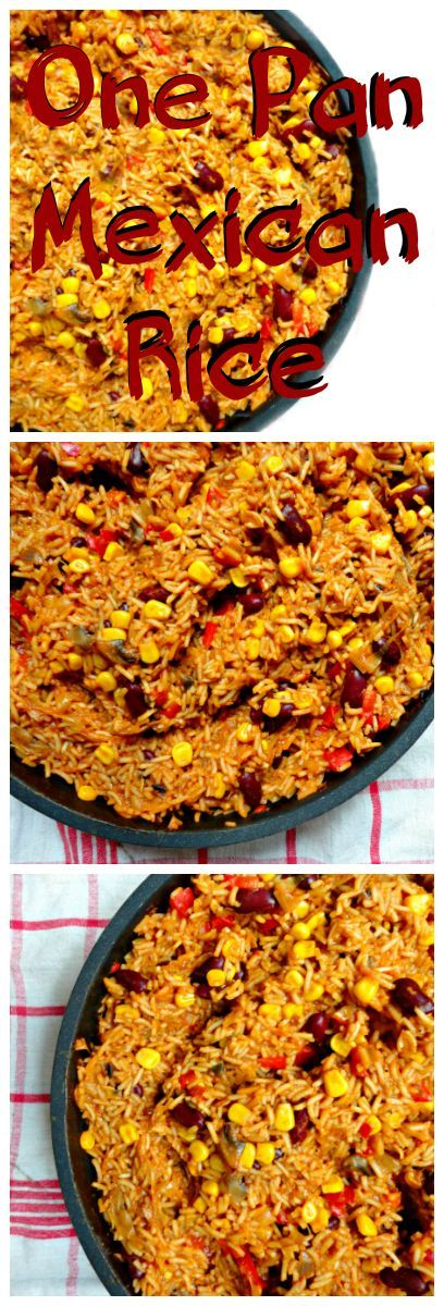 This Vegetarian One Pan Mexican Rice is the perfect dish to serve to loved ones - it is easy to make, hearty, healthy and very filling! #VEGAN #HEALTHY #GLUTENFREE - Ceara's Kitchen