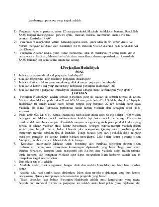 Materi Soal Dan Jawaban Mata Kuliah Sejarah Peradaban Islam Islam Ali Bin Abi Thalib Tasawuf