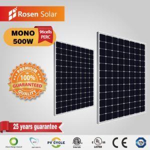 Rosen High Efficiency 48v Monocrystalline 500w 96cells Solar Panels On Made In China Com Solar Solar Technology Solar Energy System
