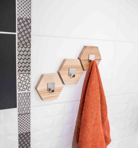 Hook For Wall Towel Hook Coat Hook Wood Wall Hook Towel Rack Etsy Wall Hooks Wooden Wall Hooks Wall Hanger