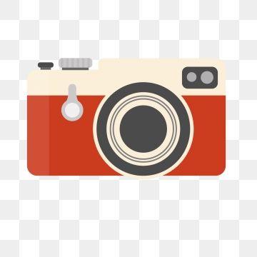 Clipart Vettoriale Della Fotocamera Vintage Rosso Png E Vettore Gratuiti Clip Art Camera Logo Camera Illustration
