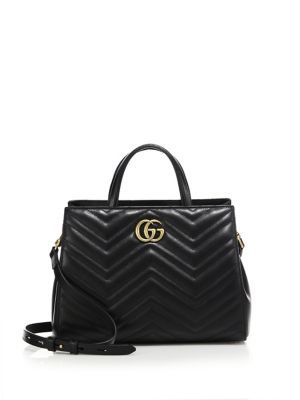 52296ade5f7f6 GUCCI Gg Marmont Matelassé Leather Top-Handle Tote.  gucci  bags  shoulder  bags  hand bags  suede  tote  lining