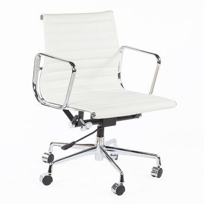 Stilnovo Conference Chair White Leather Office Chair Chair Executive Office Chairs