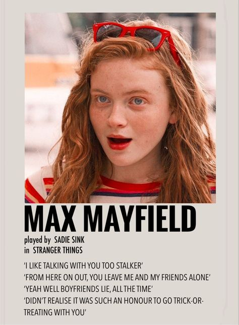 Max mayfield by Millie