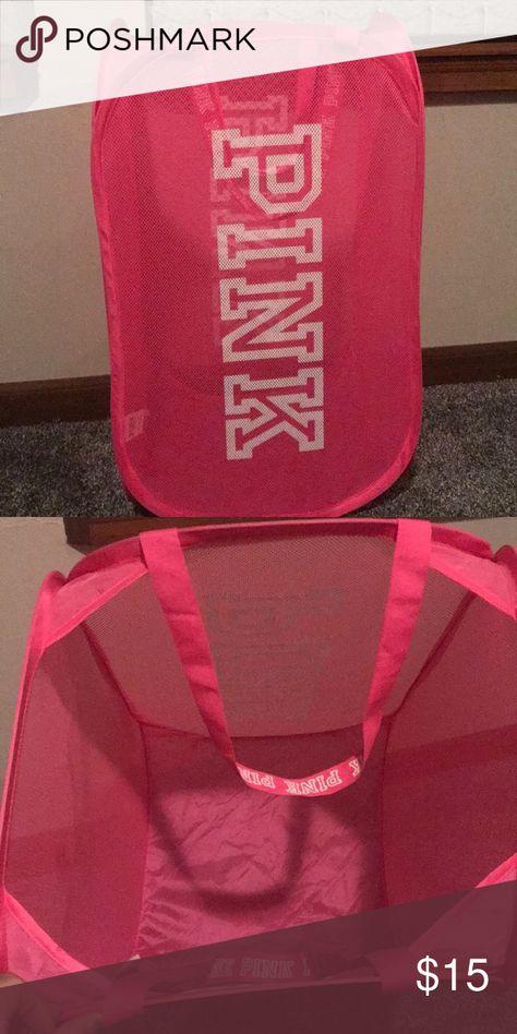 victoria's secret pink laundry bag