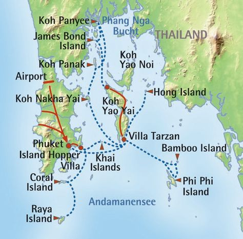 Island-Hopping Thailand: Best of Travel Group