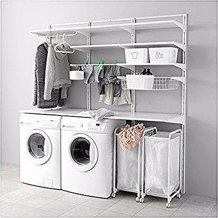 Mobel Einrichtungsideen Fur Dein Zuhause In 2020 Ikea Laundry Room Ikea Closet System Closet Small Bedroom