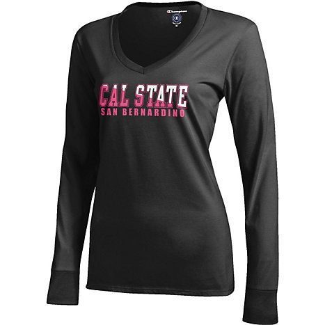 Digital California State University San Bernardino Girls Performance T-Shirt