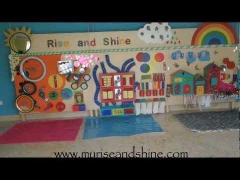 Rise & Shine Sensory Wall