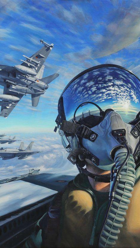 Fighter Jet Pilot Iphone Wallpaper Iphone Wallpapers Jet