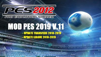 PES 2012 Mod PES 2019 v11 | footbal games | 2012 games