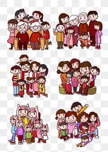 Family Vector Material Family Template Download Family Four People ภาพต ดปะภาพครอบคร ว ว สด เวกเตอร ครอบคร ว ดาวน โหลดเทมเพลตครอบคร วภาพ Png และ Psd สำหร บดา Retrato Familiar Familia Dibujos Animados Familia Dibujos