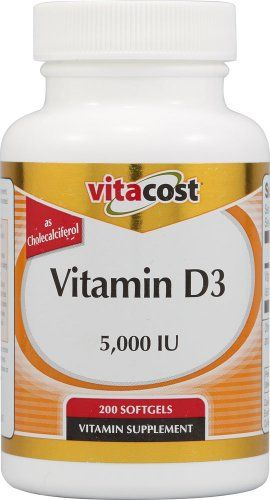 Vitacost Vitamin D3 5000 Iu 200 Softgels Find Out More About