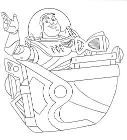 DISNEY COLORING PAGES: BUZZ LIGHT YEAR COLORING PAGES