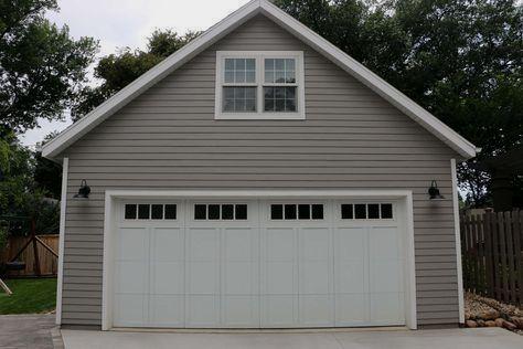 Garage Door Ideas Nz And Pics Of Garage Doors Guys Garagedoors Garage Garageorganization Detached Garage Attic Truss Garage Design