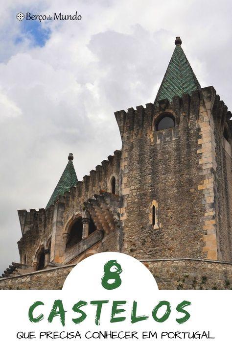8 castelos em Portugal, longe das rotas turísticas, que o vão deixar encantado  #viagemnaeuropa #portugal #castelos #viagens #dicasdeviagem