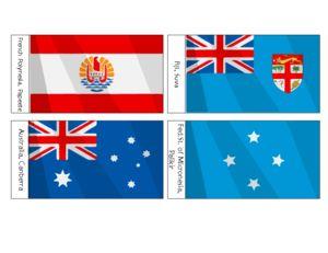 National Flags Of Australia Oceania For Kids Part 5 National Flag Of Australia National Flag Kids Part