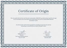 قوالب شهادات تقدير جاهزة وقابلة للتعديل Psd بحث Google Certificate Of Origin Personalized Items The Originals