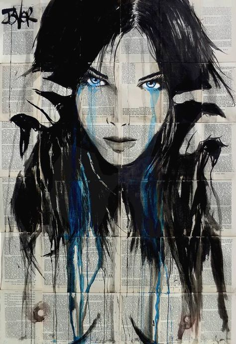 (CreativeWork) CLOUDY DAYS by loui jover. drawing. Shop online at Bluethumb.Loui Jover / Debbye Reis Collection