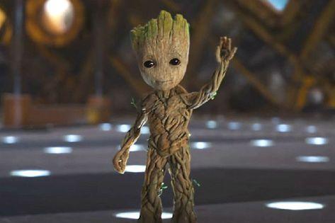 "Guardians of the Galaxy Vol 2 Baby Groot 7/"" Figuur Statue Blumentopf Speelgoed"