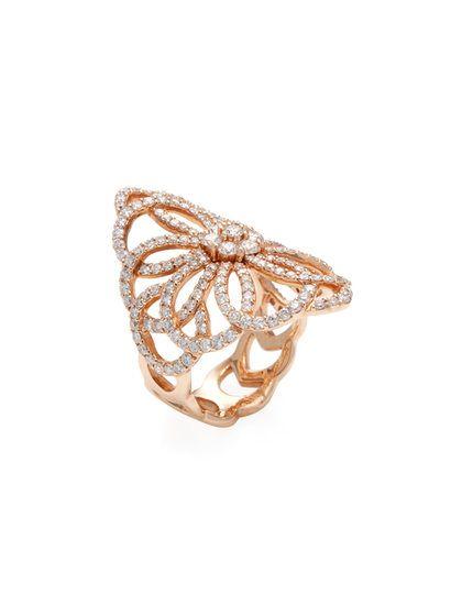 14k Rose Gold Prism Jewel 3.30mm D Shape Plain Stackable Wedding Band Size 7