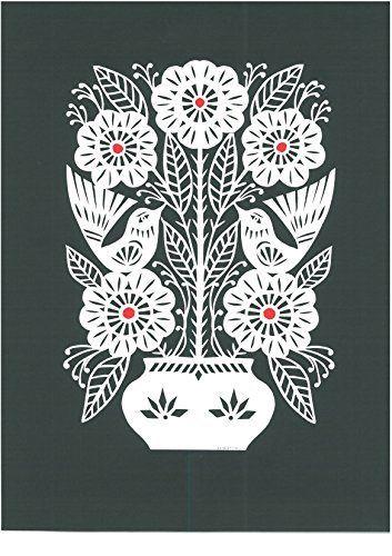 4 x Single Paper Napkins Folklore flowers  kashubian   DECOUPAGE  CRAFTING 110