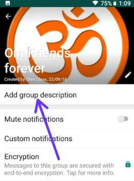 How To Add A Description To A Whatsapp Group Android Bestusefultips Encrypted Messages Ads Best Android