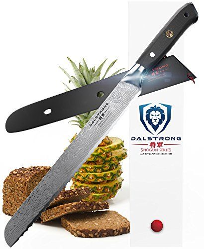 Dalstrong Bread Knife Shogun Series Aus10v 1025 260mm Amazon
