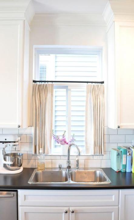 Kitchen Window Treatments Over Sink Shelf 35 Ideas Kitchen Window Shelves Kitchen Window Treatments Kitchen Window