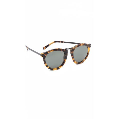 e9dd89edfe9e Karen Walker Harvest Sunglasses ($280) ❤ liked on Polyvore featuring  accessories, eyewear,
