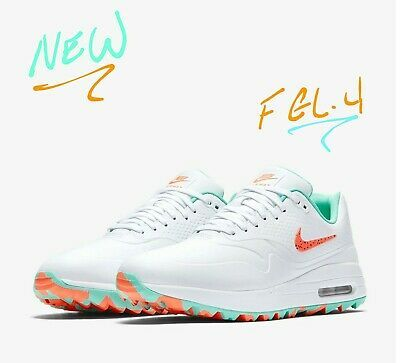 Nike Air Max Hot Punch Golf Shoes Size 8 9 5 11 12 13 So Hot New Vice Colorway Nike Air Max Golf Shoes Mens Golf Shoes
