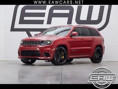 Ebay Grand Cherokee Trackhawk 4wd 2018 Jeep Grand Cherokee Trackhawk 4wd 1721 Miles Red 6 2l V8 Superc Jeep Grand 2014 Jeep Grand Cherokee Jeep Grand Cherokee