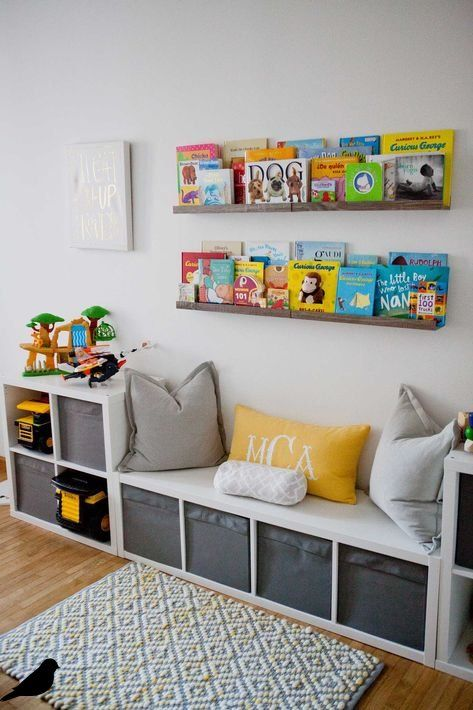 Ikea Cube Storage Kids Window Seats 21 Trendy Ideas Bedroomstorageideas Ikea Kids Playroom Boy Toddler Bedroom Ikea Kids