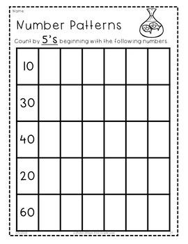 Number Patterns Worksheets Number Patterns Worksheets Number